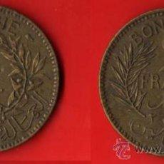Monedas antiguas de África: TUNEZ 2 FRANCOS 1941. Lote 27873971