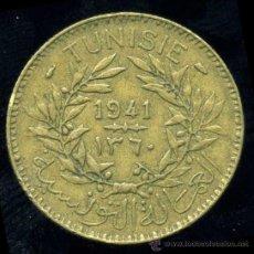 Monedas antiguas de África: TUNEZ : 2 FRANCOS 1941 . Lote 27962225