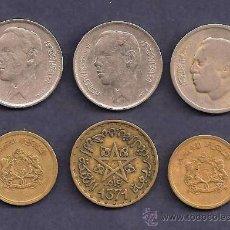 Monedas antiguas de África: MARRUECOS: MONEDA DE CIRCULACIÓN. Lote 28456641