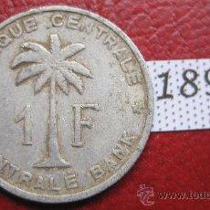 Monedas antiguas de África: CONGO BELGA 1 FRANCO 1959 . Lote 28273228
