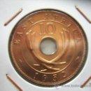 Monedas antiguas de África: EAST AFRICA - 10 CENTS 1952 PROOF - MUY RARA. Lote 28630163