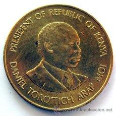 Monedas antiguas de África: MONEDAS DEL MUNDO . KENIA . 10 CENTS 1990 . EBC. Lote 30586912
