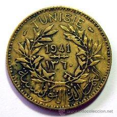 Monedas antiguas de África: MONEDAS DEL MUNDO . TUNEZ . 2 FRANCS 1941. Lote 31195790
