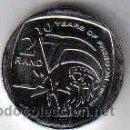 Monedas antiguas de África: SOUTH AFRICA / SUDAFRICA 2 RAND 2004 10º ANIV LIBERTAD. Lote 160657665