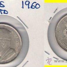 Monedas antiguas de África: MONEDA DE UN DIRHAM DE MARRUECOS DE 1960. REFORMA MONETARIA. MOHAMMED V. PLATA. EBC. (ME315).. Lote 32175836