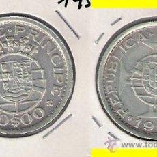 Monedas antiguas de África: MONEDA DE 10 ESCUDOS DE SANTO TOMÉ Y PRÍNCIPE DE 1951. PLATA. EBC. COLONIA PORTUGUESA. (ME412).. Lote 32264906