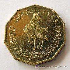 Monedas antiguas de África: MONEDAS DEL MUNDO . LIBIA . 1/4 DINAR AH-1369 .. EBC. Lote 33085882
