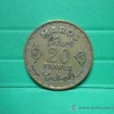 Monedas antiguas de África: 20 FRANCS MAROC. Lote 34254317