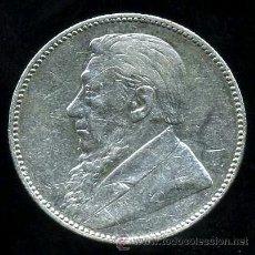 Monedas antiguas de África: SUDAFRICA : 1 SHILLING 1896 (PLATA) APROX. EBC. Lote 38419264