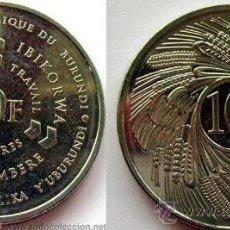Monedas antiguas de África: BURUNDI 10 FRANCOS 2011. Lote 140176369