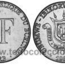 Monedas antiguas de África: BURUNDI 1 FRANCO 2003 KM 19. Lote 140176436