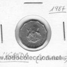 Monedas antiguas de África: UGANDA 1 SHILLING 1987. Lote 42155148
