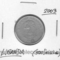 Monedas antiguas de África: UGANDA 500 SHILLINGS 2003. Lote 42155227