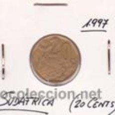 Monedas antiguas de África: SUDAFRICA 20 CENTS 1997. Lote 42167265