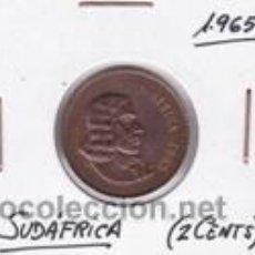 Monedas antiguas de África: SUDAFRICA 2 CENTS 1965. Lote 42167301