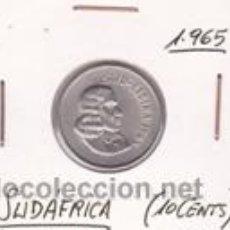 Monedas antiguas de África: SUDAFRICA 10 CENTS 1965. Lote 42167429