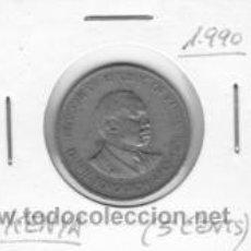 Monedas antiguas de África: KENIA 5 CENTS 1990. Lote 42169301