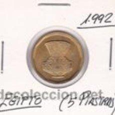 Monedas antiguas de África: EGIPTO 5 PIASTRAS 1992. Lote 42182534