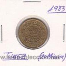 Monedas antiguas de África: TUNEZ 20 MILLIM 1983. Lote 42183417