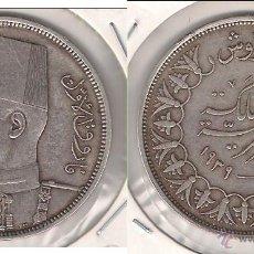 Monedas antiguas de África: MONEDA DE 10 PIASTRAS DE EGIPTO DE 1939. PLATA. SIN CIRCULAR- REY FAROUK. (ME881).. Lote 42409709