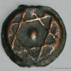 Monedas antiguas de África: LOTE DE 2 FELUS O FALUS CON ESTRELLA DE DAVID - MARRUECOS-ESPAÑA SIGLO XVIII-XIX. Lote 42548942