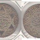 Monedas antiguas de África: MONEDA DE 1/2 RIAL (5 DIRHAMS) DE MARRUECOS DE 1902 DE ABD AL-AZIZ. PLATA. EBC. (ME1038).. Lote 43128248