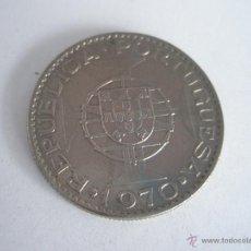 Monedas antiguas de África: Aª MONEDA-MOZAMBIQUE-10 ESCUDOS-PLATA-1970-BUEN ESTADO-.. Lote 43208581