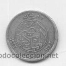 Monedas antiguas de África: EGIPTO- 2 PIASTRAS- 1923- PLATA. Lote 43362931