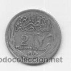 Monedas antiguas de África: EGIPTO- 2 PIASTRAS- 1917- PLATA. Lote 43362975