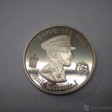 Monedas antiguas de África: ETHIOPIA, 5 DOLARES DE PLATA DE 1972. EMPERADOR HAILE SALASSIE. Lote 43911214