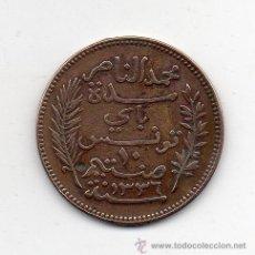 Monedas antiguas de África: TÚNEZ. 10 CÉNTIMOS. AÑO 1917 A.. Lote 44303987
