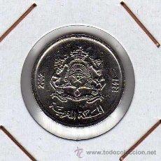Monedas antiguas de África: MARRUECOS : 1/2 DIRHAM 2002 ( 1423 ) SIN CIRCULAR . Lote 44691275