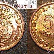 Monedas antiguas de África: MOZAMBIQUE - 50 CENTS - 1957 - SIN CIRCULAR - BRONCE. Lote 45293821