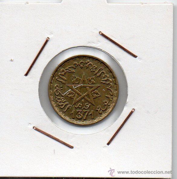 MARRUECOS ( PROTECTORADO FRANCÉS ) : 10 FRANCS 1371 (A) SIN CIRCULAR (Numismática - Extranjeras - África)