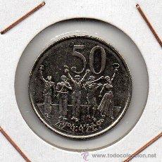 Monedas antiguas de África: ETIOPIA : 50 CENTS 2007 SIN CIRCULAR . Lote 46279646