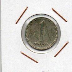 Monedas antiguas de África: ANGOLA : 1 KWANZA 1975 EBC+. Lote 46633763