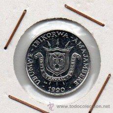 Monedas antiguas de África: BURUNDI : 1 FRANC 1990 PM SIN CIRCULAR . Lote 47314254