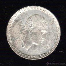 Monedas antiguas de África: EGIPTO. 25 PIASTRAS. PLATA. Lote 48229180