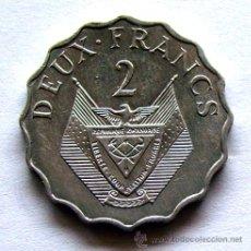 Monedas antiguas de África: MONEDAS DEL MUNDO . RUANDA . 2 FRANCS 1970. Lote 48528120