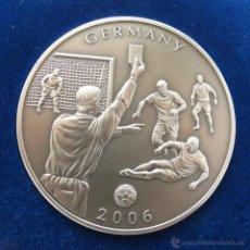 Monedas antiguas de África: LIBERIA $ 5 2006 FUTBOL. Lote 48683368