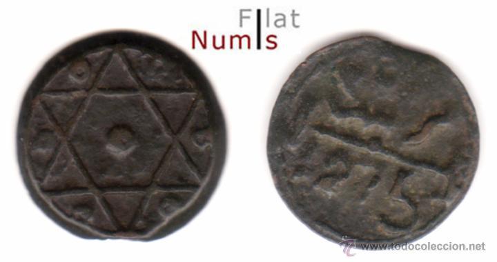 MARRUECOS - 2 FALUS - 1275AH - MARRAKESH - M.B.C. - BRONCE (Numismática - Extranjeras - África)