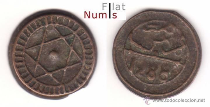 MARRUECOS - 4 FALUS - 1288AH - E.B.C - BRONCE (Numismática - Extranjeras - África)