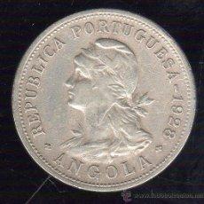 Monedas antiguas de África: ANGOLA. 50 CENTAVOS. 1928. Lote 49087232