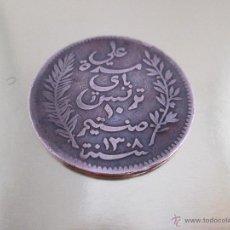 Monedas antiguas de África: AªMONEDA TUNEZ-10 MILLIMES 1892-COBRE-VER FOTOS.. Lote 49258412