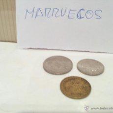 Monedas antiguas de África: LOTE MONEDAS DE MARRUECOS USADAS VER FOTOS. Lote 49445029