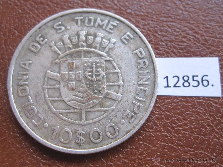 SANTO TOME E PRINCIPE 10 ESCUDOS PLATA 1939 (Numismática - Extranjeras - África)
