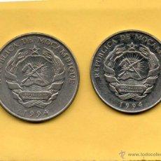 Monedas antiguas de África: MM. 2 MONEDAS MOZAMBIQUE. MOÇAMBIQUE. MOÇAMBIC. AÑO 1994. 500 Y 1000 METICAIS. VER FOTOS. BONITAS. Lote 50590023