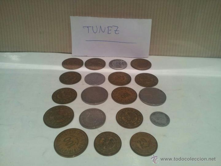 LOTE DE MONEDAS DE TUNEZ VER FOTOS (Numismática - Extranjeras - África)