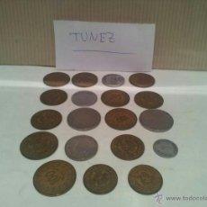 Monedas antiguas de África: LOTE DE MONEDAS DE TUNEZ VER FOTOS. Lote 50803349