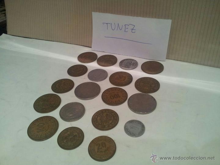Monedas antiguas de África: lote de monedas de tunez ver fotos - Foto 2 - 50803349